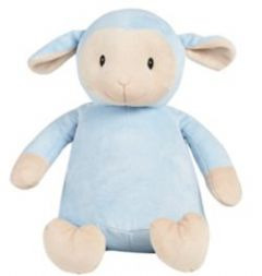 Personalised Lamb Cubbie *Limited* Teddy - Blue